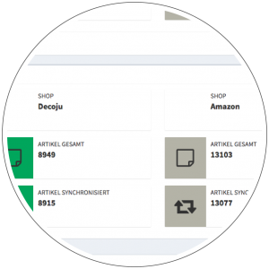 Schnittstellen Onlineshop Amazon stationärer Handel