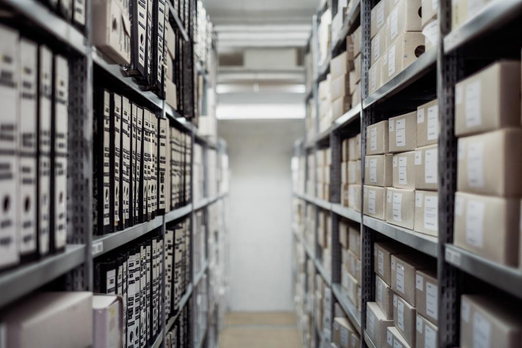 Archivierung Dokumente Onlinehandel